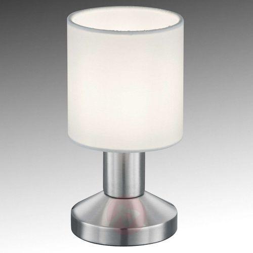 Trio GARDA Lampa stołowa Nikiel matowy, 1-punktowy - Nowoczesny - Obszar wewnętrzny - GARDA - Czas dostawy: od 4-8 dni roboczych (4017807337778)