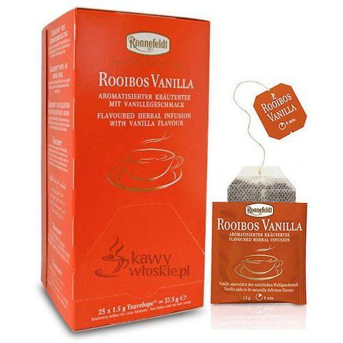 Ziołowa herbata Ronnefeldt Teavelope Rooibos Vanilla 25x1,5g (4006465150805)