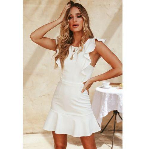 Sukienka GAILA WHITE, kolor biały