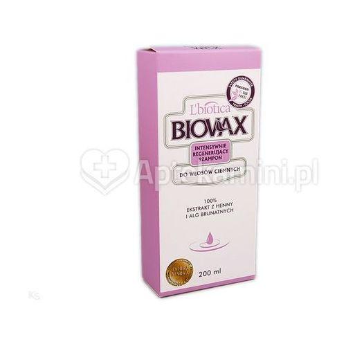 L'biotica Biovax szampon int.reg d/wł.ciemnych szamp. - 200 ml (5907467544533)