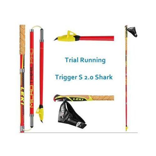 Leki Kijki nordic walking micro trail pro red 2017