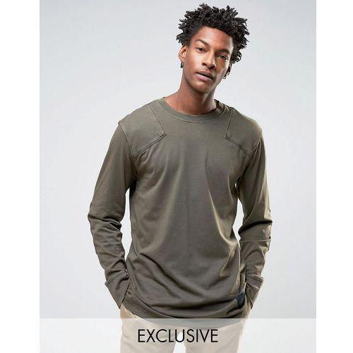 Cheap monday  yard long sleeve t-shirt used wash - green