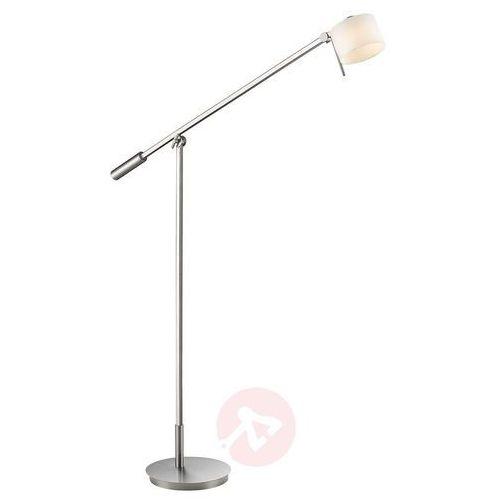 Trio ALEGRO Lampa Stojąca LED Nikiel matowy, 1-punktowy - Nowoczesny - Obszar wewnętrzny - ALEGRO - Czas dostawy: od 6-10 dni roboczych