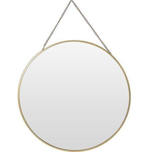 Okrągłe lustro ścienne z zawieszką, Ø 29 cm marki Home styling collection