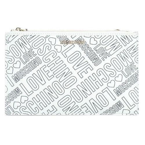 Love Moschino Kopertówka Biały UNI, kolor biały