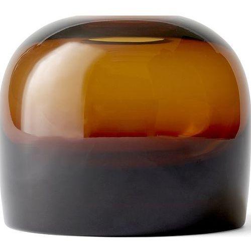 Wazon Troll Vase, M, Amber - Menu