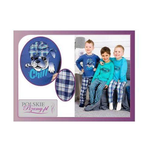 Piżama dziecięca damian: granat marki Taro