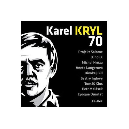 Karel Kryl - 70 Koncert CD+DVD Kryl Karel