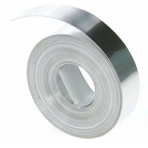 12mm non adhesive aluminum tape marki Dymo