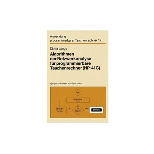 Algorithmen Der Netzwerkanalyse Fur Programmierbare Taschenrechner (HP-41c)