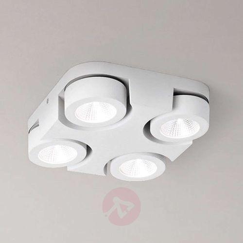 Kwadratowa lampa sufitowa led hella marki Fabas luce