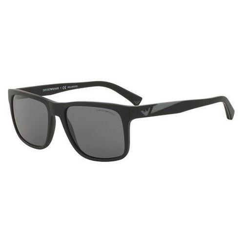 Okulary słoneczne ea4071f asian fit polarized 504281 marki Emporio armani