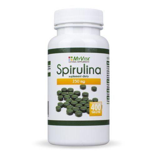 Spirulina tabletki 400 tabletek 250mg MyVita (5903111710194). Najniższe ceny, najlepsze promocje w sklepach, opinie.