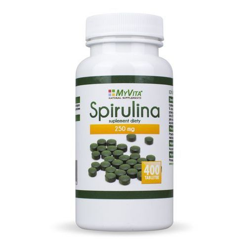 Spirulina tabletki 400 tabletek 250mg MyVita (5903111710194)