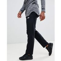 Nike Club Swoosh Open Hem Jogger In Black 804421-010 - Black, w 2 rozmiarach