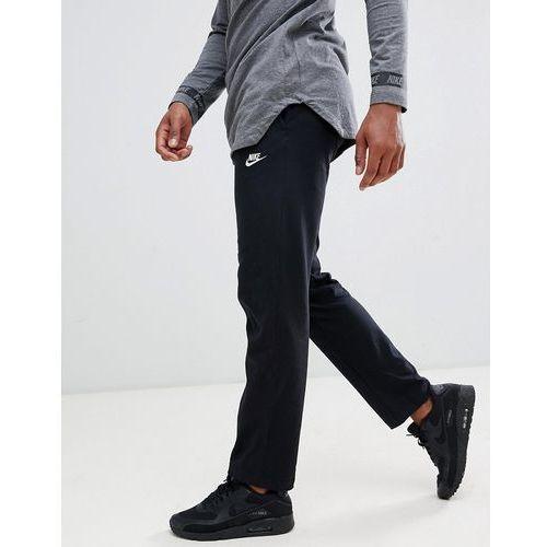748713615 Spodnie męskie · Nike Club Swoosh Open Hem Jogger In Black 804421-010 -  Black