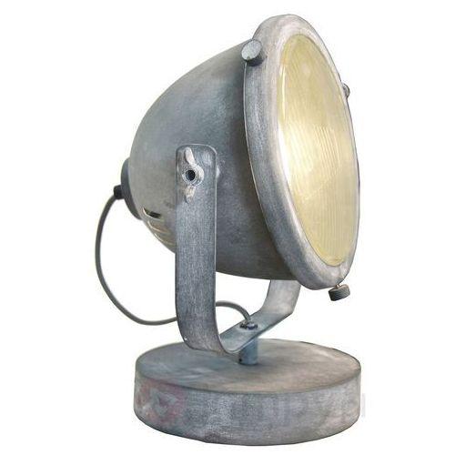 Brilliant carmen lampa stołowa siwy, 1-punktowy - nowoczesny - obszar wewnętrzny - carmen - czas dostawy: od 4-8 dni roboczych