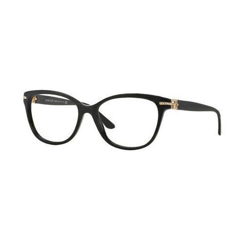 Okulary Korekcyjne Versace VE3205BA Asian Fit GB1