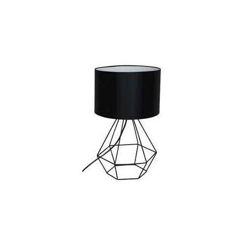 Luminex Lampa stołowa alma 1xe27/60w/230v czarny