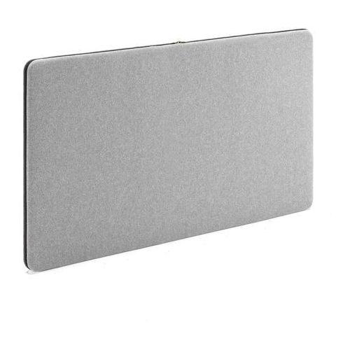 Panel dźwiękochłonny zip calm, 1200x650 mm, jasnoszary marki Aj produkty