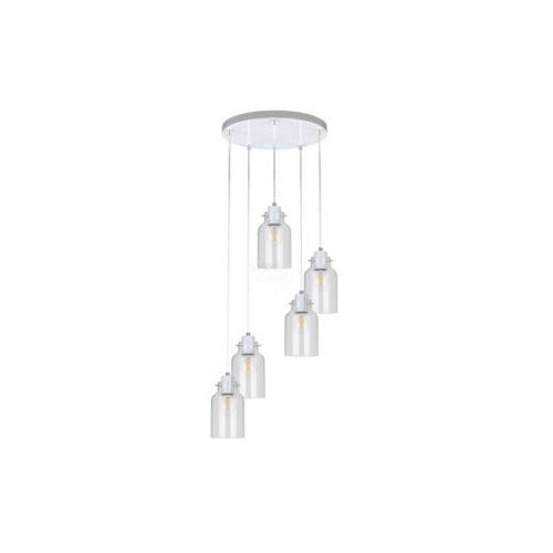 ALESSANDRO 1760502 LAMPA WISZĄCA SPOT LIGHT Nowoczesne oświetlenie RABATY w sklepie, kolor biały/transparentny