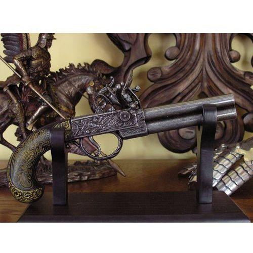 Hiszpania Dwulufowy pistolet skałkowy z xviii w (k1114)