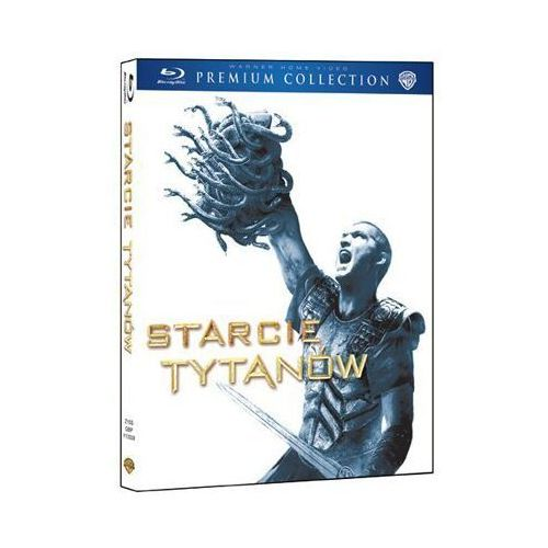 Louis leterrier Starcie tytanów premium collection (bd) (płyta bluray)