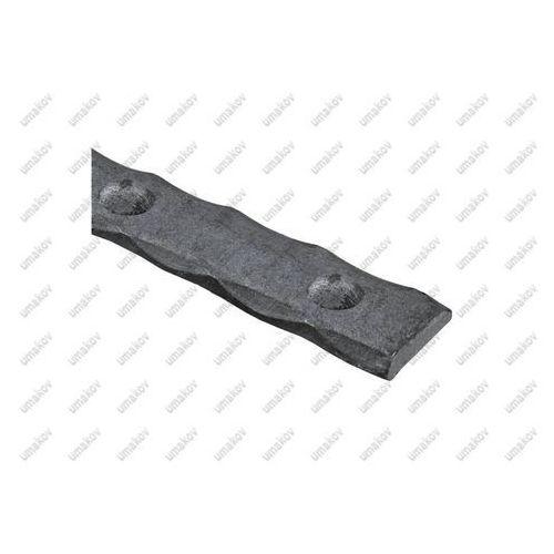 Plaskownik zdobiony nitowany P/002-30x5, L3000, a1