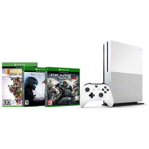 Konsola Microsoft Xbox One S 500GB. Najniższe ceny, najlepsze promocje w sklepach, opinie.