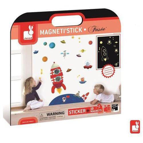 JANOD Magnetyczna dekoracja ścienna - Podróż w kosmos - sprawdź w wybranym sklepie