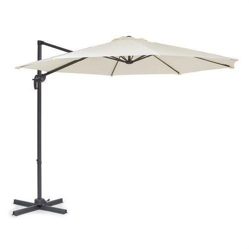 Blumfeldt Belo Horizonte, parasol przeciwsłoneczny, 292 cm, poliester, UV30, niewodochłonny, kremowy (4060656229473)