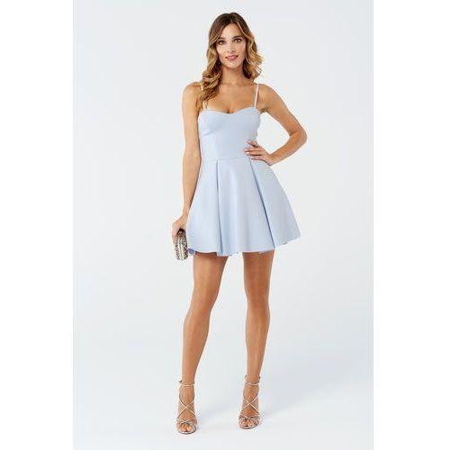 Sukienka mint w kolorze błękitnym marki Sugarfree