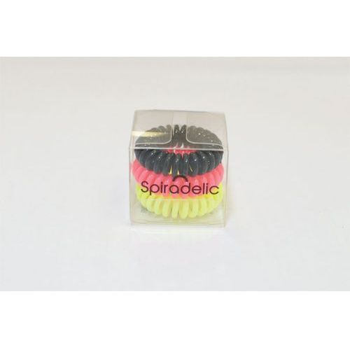 Gumki Spiradelic Neon 3 szt. - mix z kategorii Akcesoria fryzjerskie