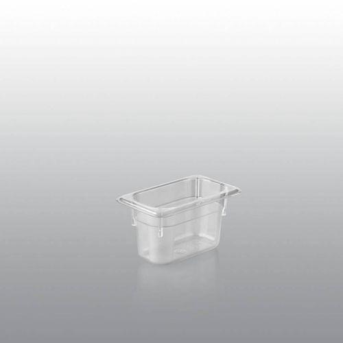 Saro Poliwęglanowy pojemnik gn 1/9 | 65 - 150 mm głębokości | 0,6 - 1,5l