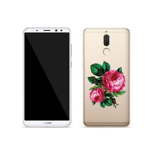 Huawei Mate 10 Lite - etui na telefon Crystal Design - Czerwone róże, ETHW618CRDGDG030000
