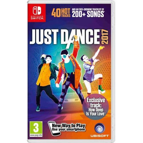 Nintendo Gra  switch just dance 2017