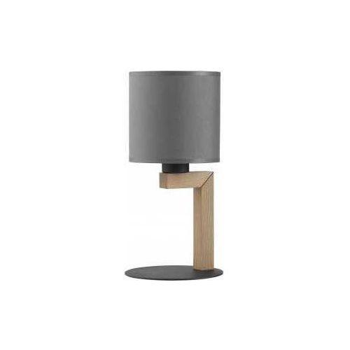 Tklighting Tk lighting troy new 5031 lampa stołowa lampka 1x60w e27 sosna/grafit (5901780550318)