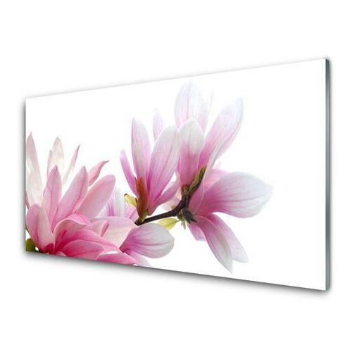 Obraz na szkle magnolia kwiat marki Tulup.pl