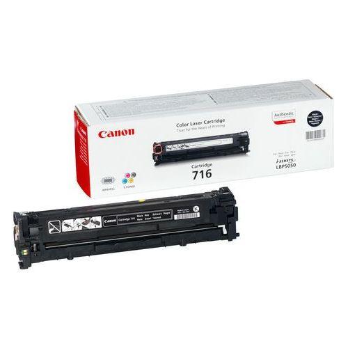 Canon toner czarny 716bk=crg716bk=1980b002, 2300 str.- wysyłka dziś do godz.18:30. wysyłamy jak na wczoraj!
