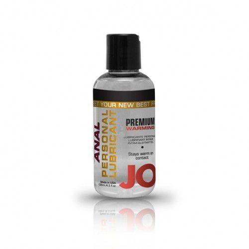 Lubrykant analny - System JO Anal Silicone Lubricant Warming 120 ml Rozgrzewający - sprawdź w wybranym sklepie