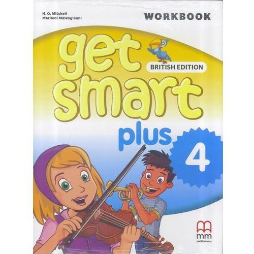 Get Smart Plus 4 WB + CD MM PUBLICATIONS - H. Q. Mitchell, Marileni Malkogianni (2018)
