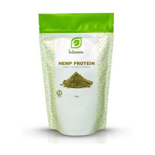 Białko z konopi w proszku hemp protein 250g marki Intenson europe