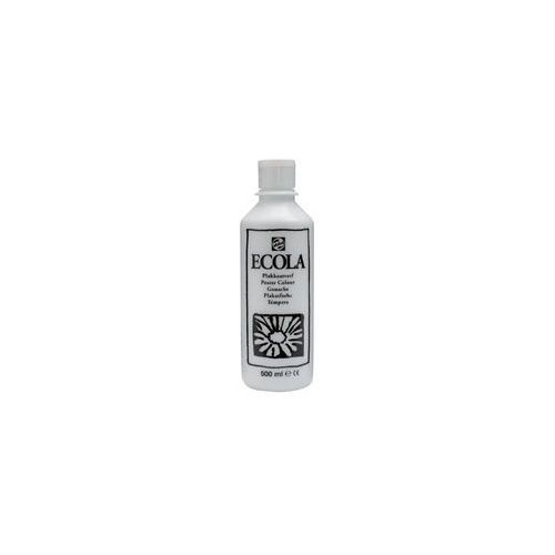 Talens Ecola farba tempera Gwasz 500ml 100 white (8712079011772)