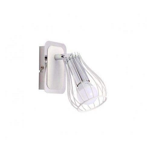Kinkiet oscar ck170519-1 lampa ścienna spot 1x40w e14 biały marki Zuma line