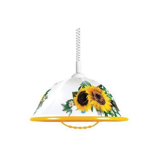 Helam Lampa wisząca akryl k 1xe27/60w słonecznik (5902349201146)