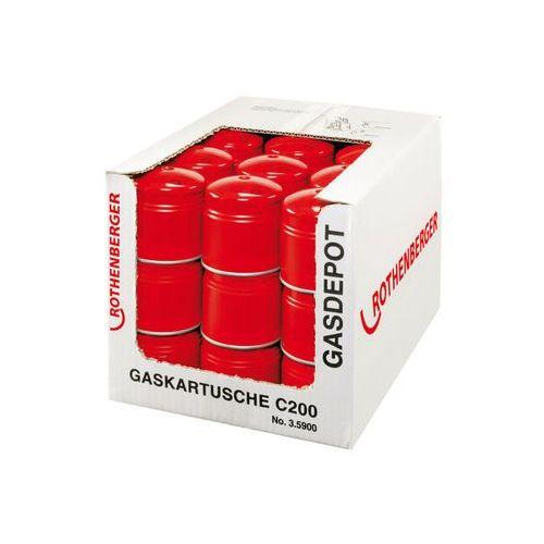 Rothenberger Wyprzedaż!!! pojemnik jednorazowy c 200 supergas 190 ml