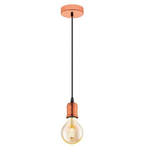 Eglo Lampa wisząca yorth 32541 zwis 1x60w e27 miedź (9002759325411)