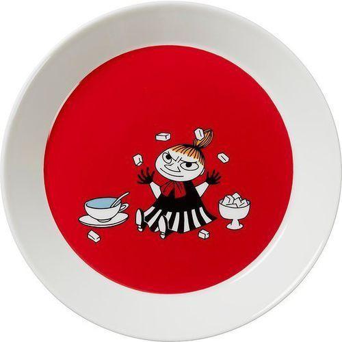 Talerz Muminki 19 cm czerwony Mała Mi, 1015565