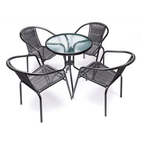Zestaw mebli ogrodowych Venezia (meble - stół + 4 krzesła)