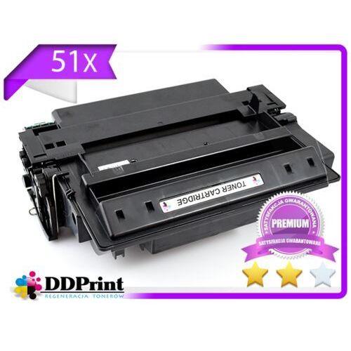 Toner 51x- q7551x do hp laserjet p3005, m3027, m3035 - premium 12k - zamiennik marki Dd-print